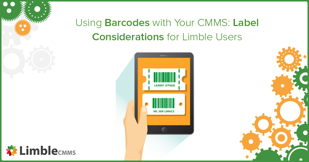 Using barcodes with CMMS