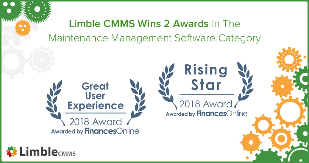 Limble CMMS wins 2 awards
