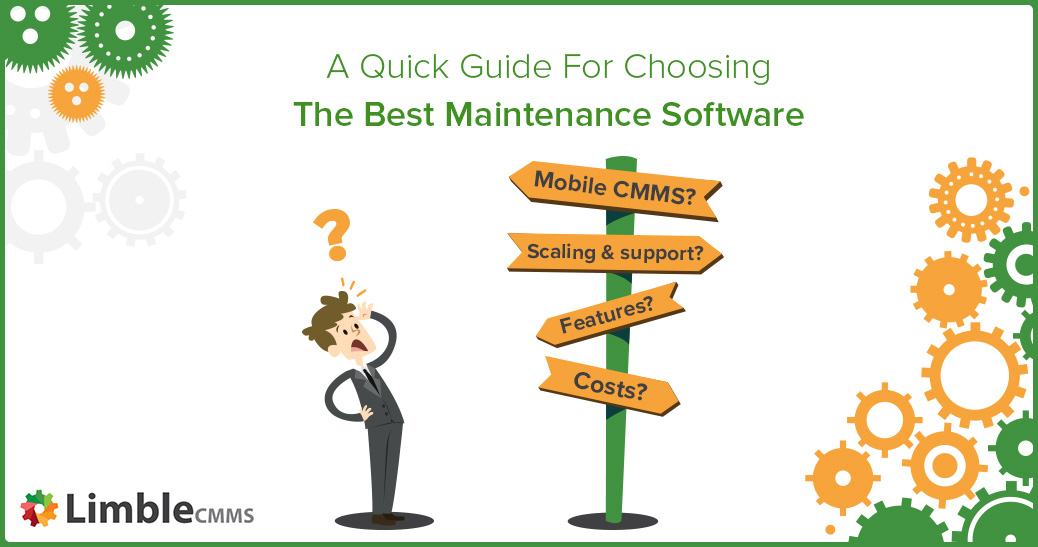 Choose best maintenance software