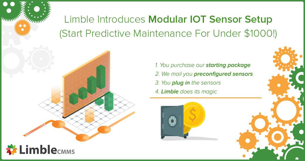 Limble introduces modular IOT sensor setup