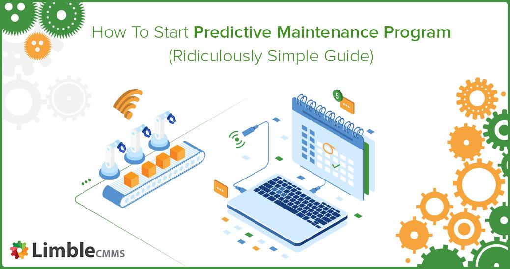 Start predictive maintenance program