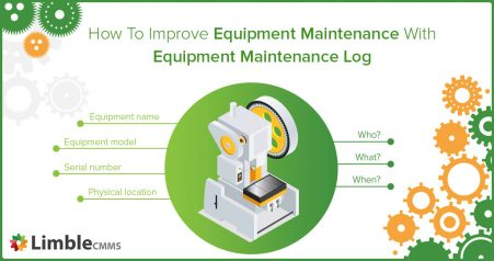 Equipment maintenance log