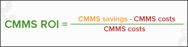 CMMS ROI calculation