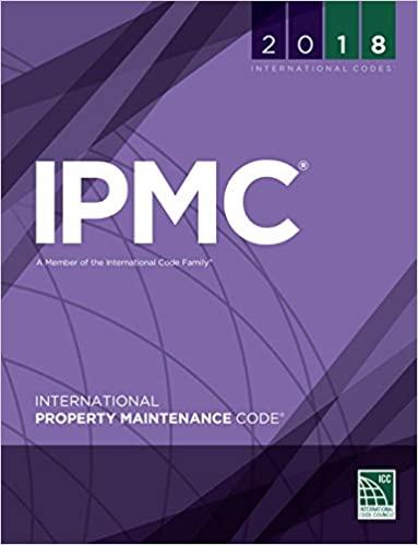 International Property Maintenance Code (IPMC) 2018