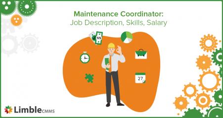 maintenance coordinator job description