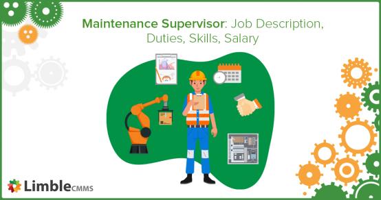 maintenance supervisor