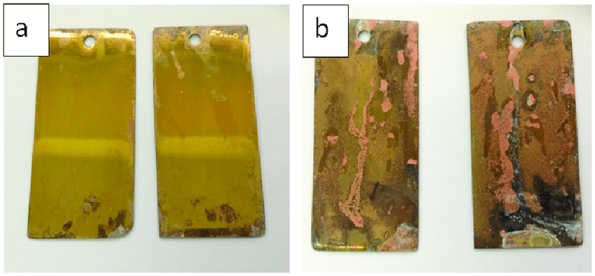 Corrosion testing example