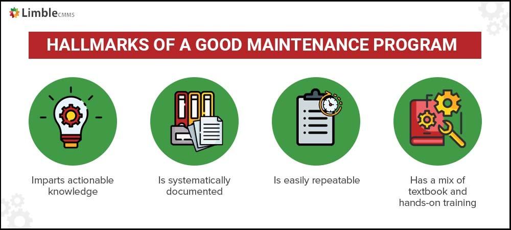 good industrial maintenance training program