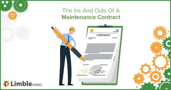 maintenance contract