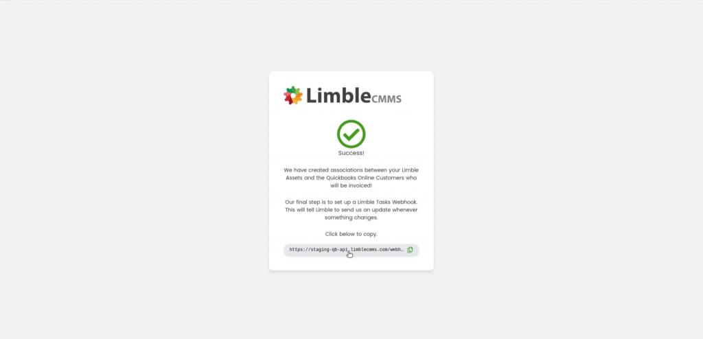 Successful Limble Quickbooks Integration