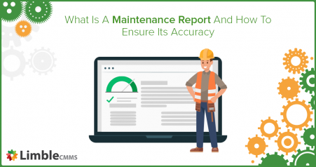 what is a maintenance report